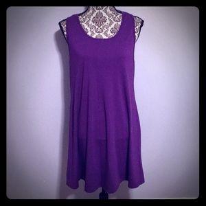 ❤️Purple T-Back Nightgown